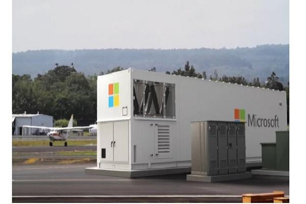 مایکروسافت از یک دیتاسنتر قابل حمل و ماژولار رونمایی کرد