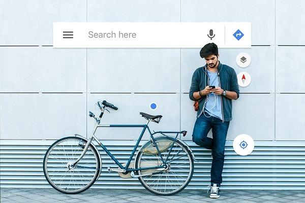 قابلیت جدید Google Maps برای دوچرخه سواران